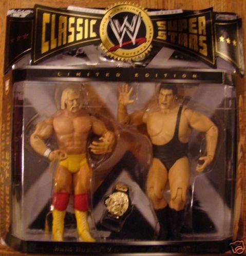WWE Classic Superstars Hulk Hogan vs Andre the Giant