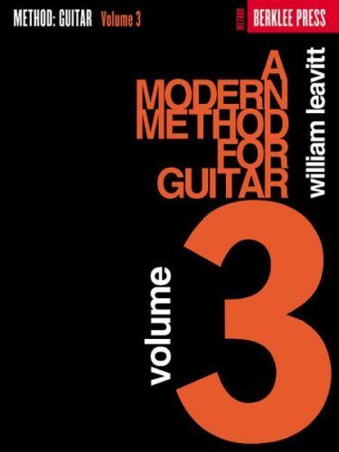 Guitar Method NEW Berklee 050449420 A Modern Method for Guitar Volume 3