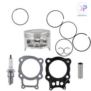 Piston Rings Gasket Kit Spark Plug For Honda Rancher TRX350 TRX 350 2000-2006