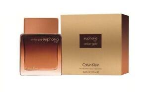 Calvin-Klein-Euphoria-Amber-Gold-EDP-100ml-Eau-de-Parfum-for-Men-New-amp-Sealed