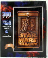 Star Wars Trilogy Puzzle 300 Piece Special Edition Poster Size 24 In X 36 In