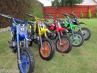 Mini dirt bike mini moto minimoto 49cc offroad bike crosser
