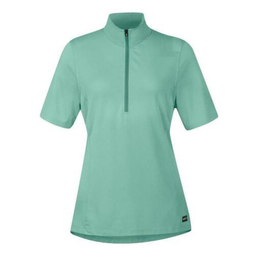 Spearmint Kerrits Ice Fil Lite Short Sleeve Riding Shirt