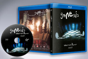 GENESIS-When-in-Rome-2007-Blu-ray-disc-2018-new