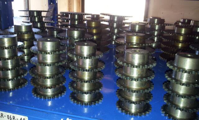 ETKR-10A-28 ASA 50 Kettenrad Typ 10-A Zähnezahl 28 Material C 45 außengehärtet