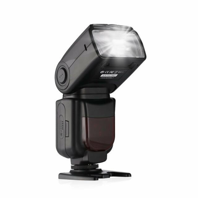 New DF-801 High Speed Sync 1/8000s E-TTL/E-TTL II Speedlite Flash For Canon DSLR