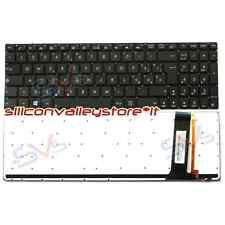 Tastiera Italiana Nero Retroilluminata per Notebook Asus N550 N550LF N550JV