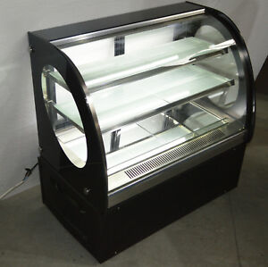Image Is Loading Refrigerated Cake Display Cabinet Commercial Countertop Bakery Showcase