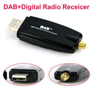 DAB Digital Radio Receiver Box Amplified Aerial antenna Android head unit USB