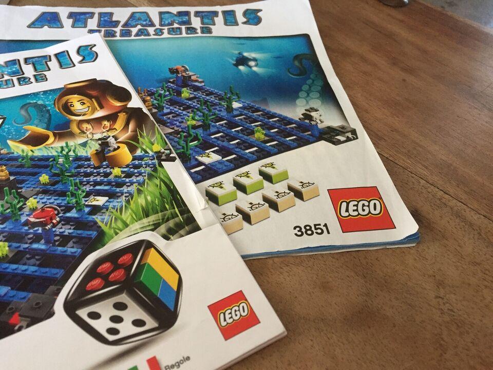Lego Games, 3851 Atlantis Treasure