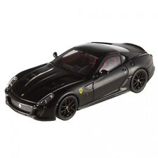 Ferrari 599 Gto 2010 Black Hot Wheels Elite 1:43 Model T6932 MATTEL