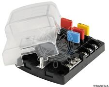 Osculati Polycarbonate 6 Fuse Holder Box for Resettable Fuses 125x85mm