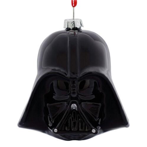 NWT STAR WARS Hallmark DARTH VADER Glass Christmas Ornament Disney Lucas Films