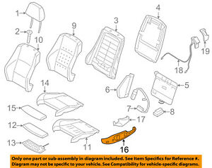 bmw oem 08 13 128i front seat seat cover outer left 52106979645 ebayimage is loading bmw oem 08 13 128i front seat seat
