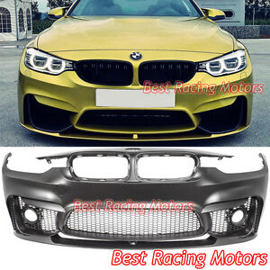 c0c0b7a1ae0 M3 (F80) Style Front Bumper + Performance Style Front Lip Fit 12-18 ...