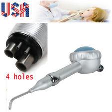 Dental Hygiene Air Polisher Tooth Handpiece 2 Hole Spray Nozzles Dental Tools Ce