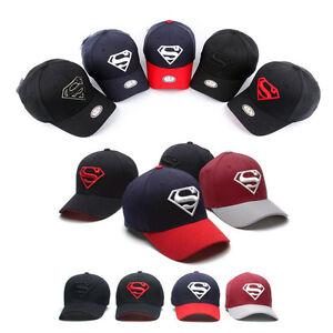 d9f97df82bee00 Image is loading Superman-Flexfit-Mens-Womens-Baseball-Cap-Hat-Baseball-