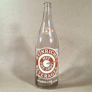 Albany-NY-Vintage-ACL-Soda-HEINRICHS-BEVERAGES-30oz-Hit-The-Spot-Bullseye-Design