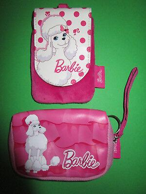 Obbiettivo 296) 1 Rosa Barbie-portafoglio +1 Barbie-borsetta Entrambi Barboncino-impresso Mattel-nnaie+1 Barbie-tÄschchen Beide Pudel-aufdruck Mattel It-it Mostra Il Titolo Originale