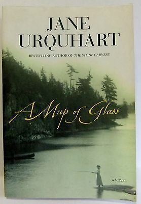 A Map Of Glass Jane Urquhart Mystery fiction book large paperback 2007 VGC