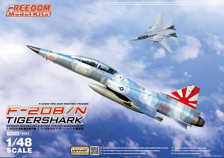 Freedom Models 1 48 Northrop F-20B   in Tiger Shark  18003