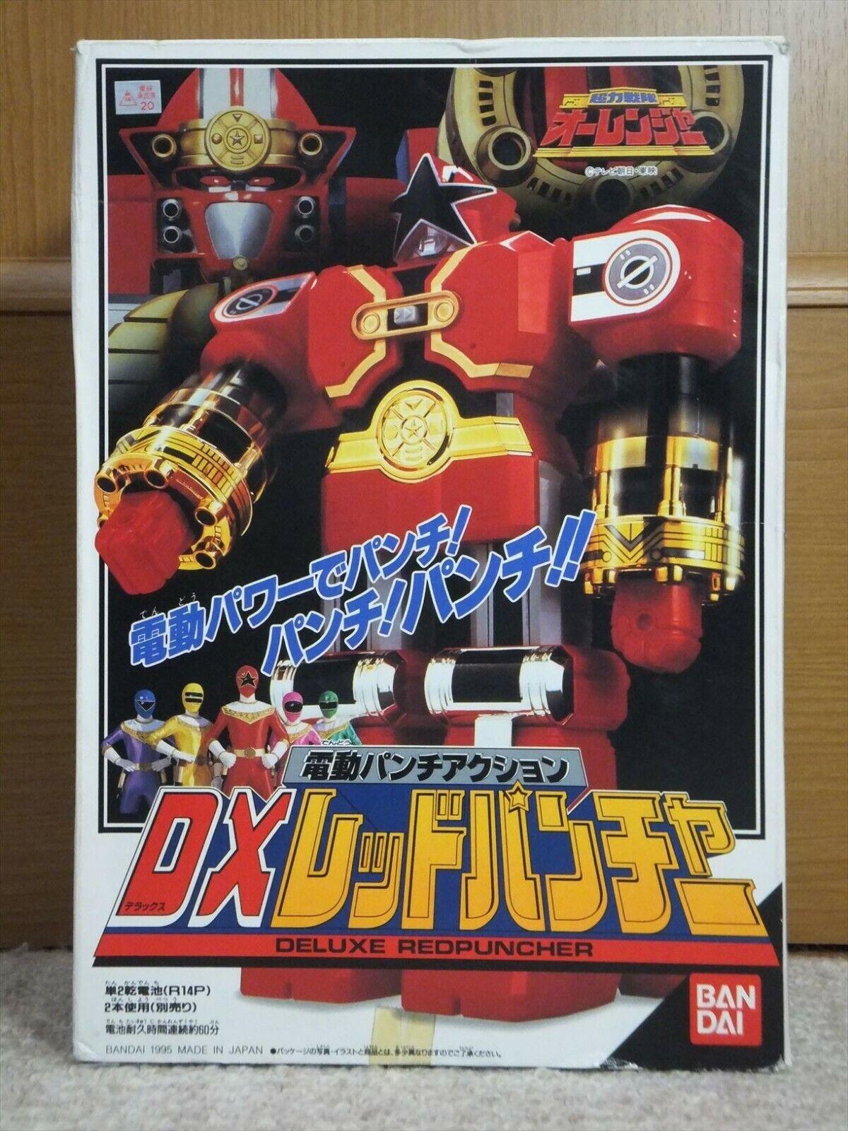 Energia Rangers  ZEO Deluxe rosso Battle Megazord Ohranger rosso PUNCHER Beai  miglior prezzo migliore