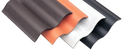 Wellpulthaube für Faserzement Wellplatten  Profil 5 177//51 in 5 Farben