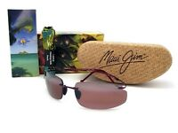Maui Jim Big Beach Burgundy / Maui Rose Polarized R518-07