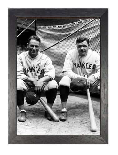 Babe Ruth Yankees Baseball Sport Fun Poster Bambino Famous Player Picture Photo