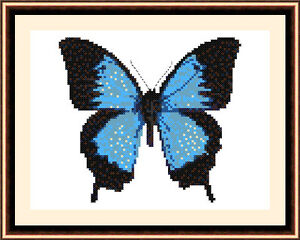 Butterfly-8505-Cross-Stitch-Kit