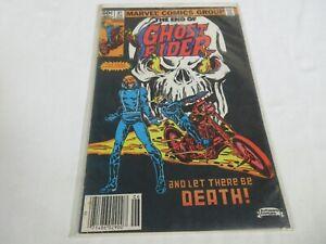 Marvel-Ghost-Rider-81-Vol-1-VF-Last-Issue-1983-Newsstand-Johnny-Blaze