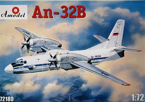 AMODEL 1/72 Antonov an-32b  72180