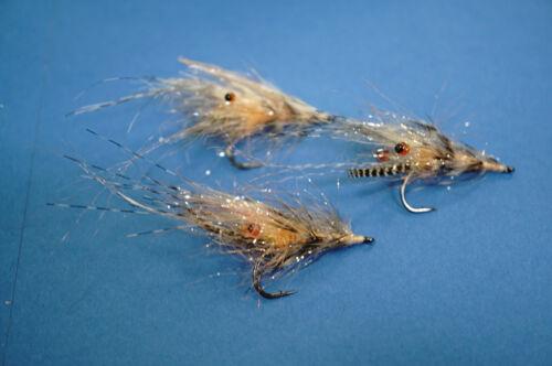 Voulons Batte/'s côtes mouches 6 Couleurs Sélection gamaktsu f314//#4 Alive Shrimp