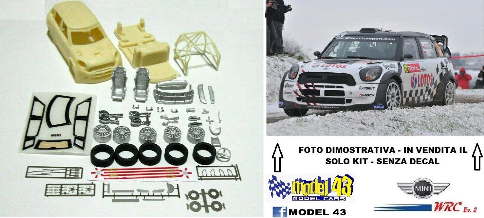 MINI WRC - Ev.2  - 2013  -   KIT MONTAGGIO -