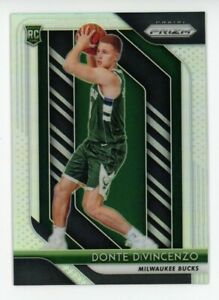 2018-19-Panini-Prizm-DONTE-DIVINCENZO-Rookie-Card-RC-SILVER-REFRACTOR-246-Bucks