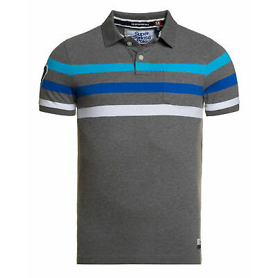 Superdry Hombre Polo Beach Battleship Marga Mix
