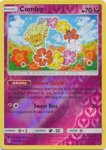 Details about  /x1 Comfey 93//145 Holo Rare Pokemon SM2 Guardians Rising M//NM