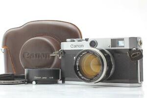 Exc-5-Schachtel-Canon-P-Rangefinder-Kamera-mit-50mm-f-1-4-l39-Lens-aus-Japan