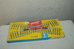 RAIL-DE-CROISEMENT-FLEISCHMANN-TRAIN-HO-NEUF-BOITE-VINTAGE-1-X-1712