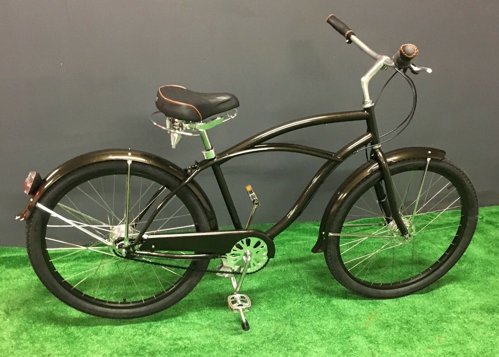 New British Rule Traditional Mens Bike with Sturmey Archer Drum Brake Hubs