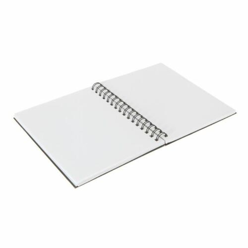 Reeves Hard Back Spiral Bound Sketch Book Drawing Pad Sketching Paper Size A5