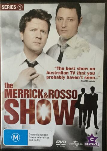 1 of 1 - The Merrick & Rosso Show : Series 1 (DVD, 2009, 2-Disc Set)