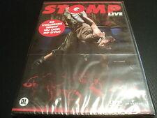 "DVD NEUF ""STOMP - LIVE"" spectacle (Import Neerlandais)"