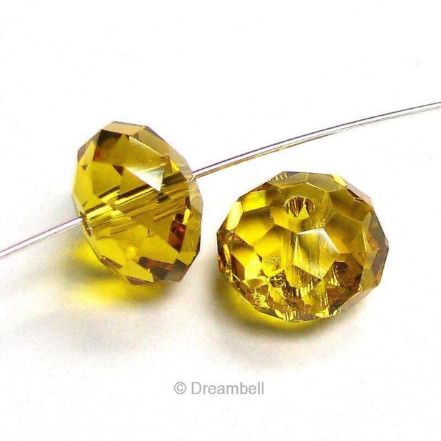 Swarovski Crystal Element 5040 Bead RONDELLE Spacer  Many Color /& Size #2
