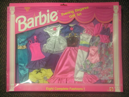 Barbie Evening Elegance Gift Set 8 Complete Fashions #68214 SKU 1002