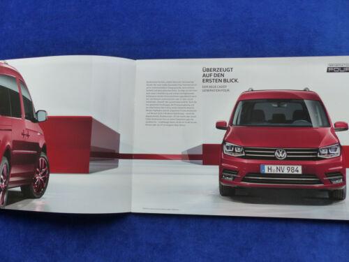 VW CADDY generazione Four modello speciale-prospetto brochure 06.2015