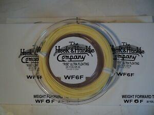 neuf sous emballage 2-bobines Crochet /& hackle W-F-6-F poids avant conique