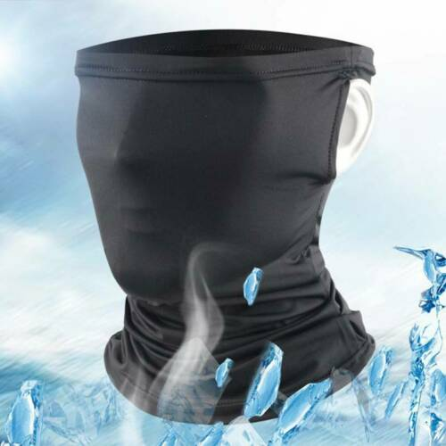 Cooling Neck Gaiter Headband Bandana Face Scarf Shield Head Cover Snood Scarves