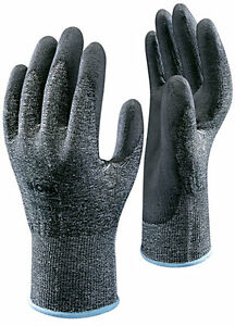 1-Pair-Of-Showa-541-HPPE-Liner-Cut-Resistant-Gloves-Workwear-Safety-Pu-Grip