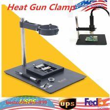 2in1 Bga Repair Platform Hot Air Heat Gun Clamp Bracket Holder Soldering Us